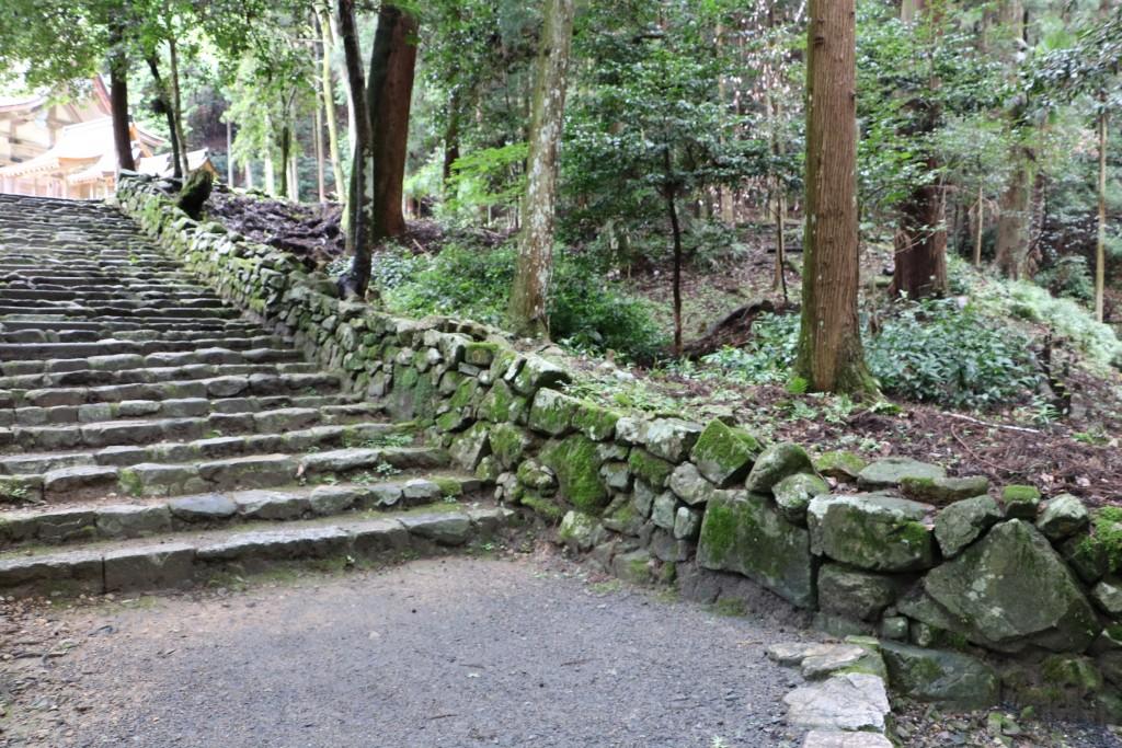 日吉大社 石垣