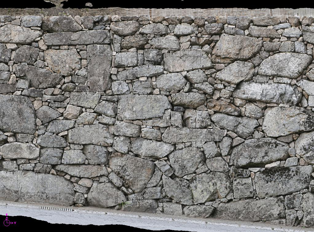 石垣 オルソ画像