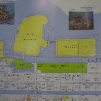 幕末 現在 膳所城 地図 重ね図