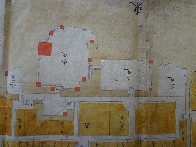 膳所城 古地図